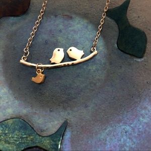 3 little birds necklace, so sweet!